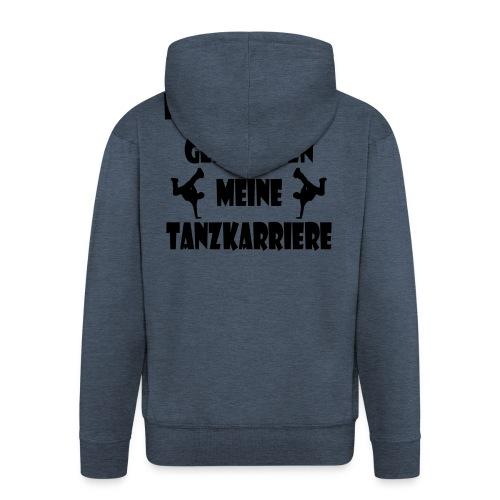 hausaufgaben_tanzkarriere - Männer Premium Kapuzenjacke