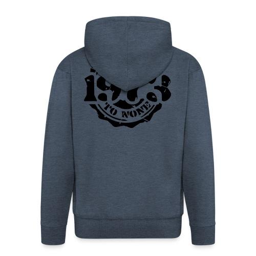1973 Second to None - Männer Premium Kapuzenjacke