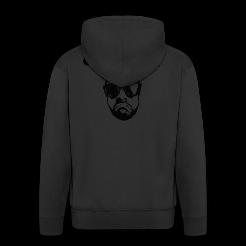 CHE MACHINA - Felpa con zip Premium da uomo