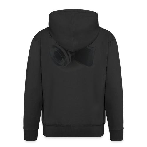 camara (Saw) - Men's Premium Hooded Jacket