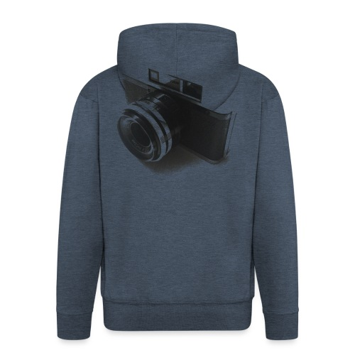 camara (Saw) - Men's Premium Hooded Jacket