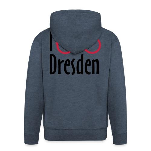 I Bike Dresden - Hollandrad - Männer Premium Kapuzenjacke