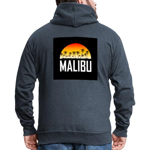 Malibu Nights - Men's Premium Hooded Jacket