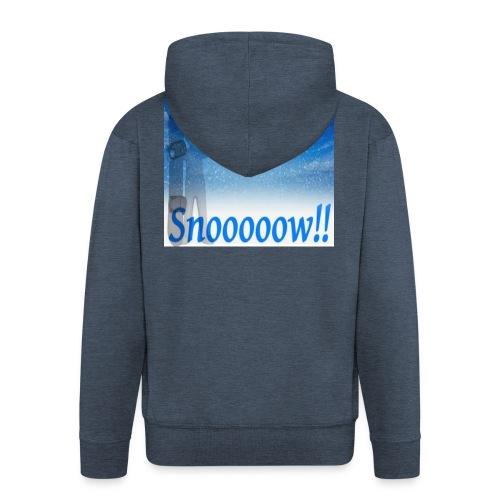 Snoooooow - Premium Hettejakke for menn