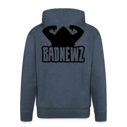 Bad Newz Thumbs Down - Männer Premium Kapuzenjacke