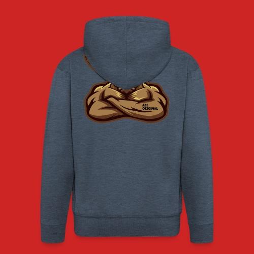Ace Original Moose - Men's Premium Hooded Jacket