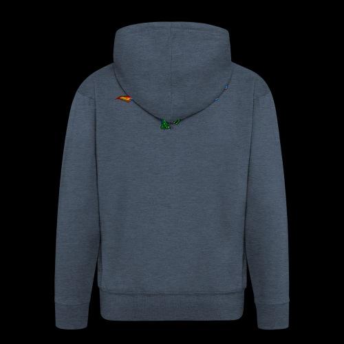 T-Rex - Men's Premium Hooded Jacket