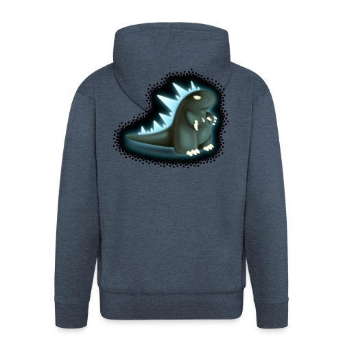 Cartoon Monster King - Men's Premium Hooded Jacket