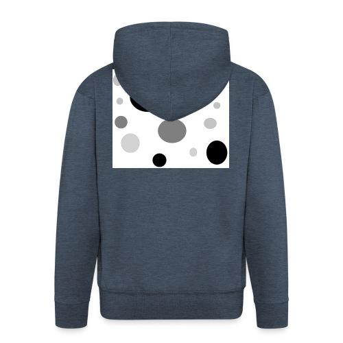 k0601laaw-png - Rozpinana bluza męska z kapturem Premium