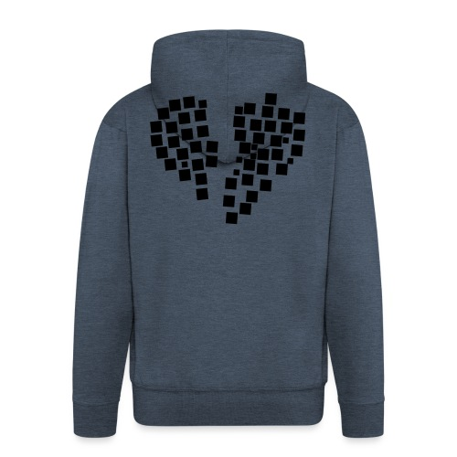 heartpixel - Männer Premium Kapuzenjacke