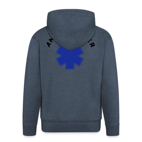 ambulancier logo - Veste à capuche Premium Homme