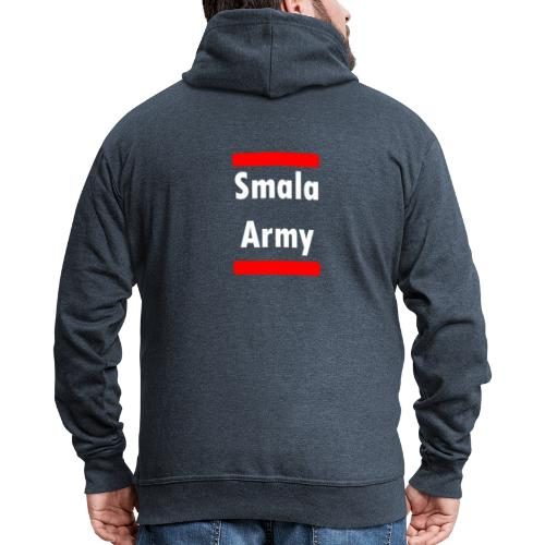 Smala Army - Männer Premium Kapuzenjacke