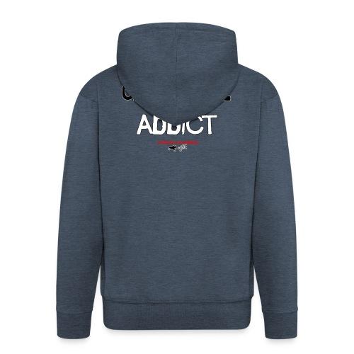 cani Trail addict - Veste à capuche Premium Homme