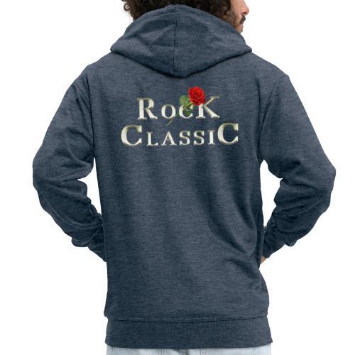 Rock Classic Rose - Männer Premium Kapuzenjacke