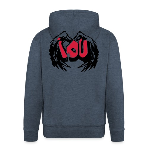 IOU - I owe you - Männer Premium Kapuzenjacke