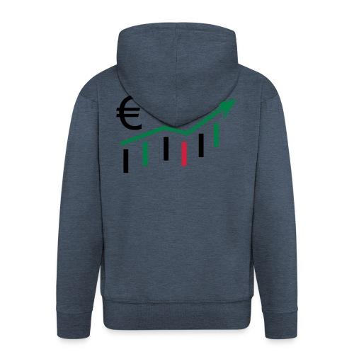 forex dollar euro - Männer Premium Kapuzenjacke