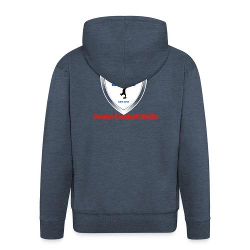 Daniel Football Skills - Men's Premium Hooded Jacket