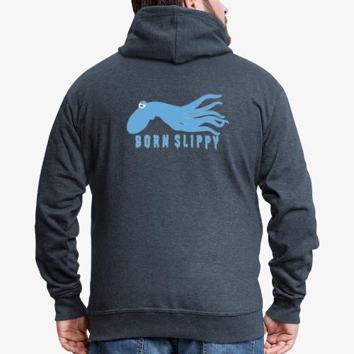 Slippy on by - Men's Premium Hooded Jacket