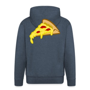IF IT FITS MY SHIRT PIZZA? - Mannenjack Premium met capuchon