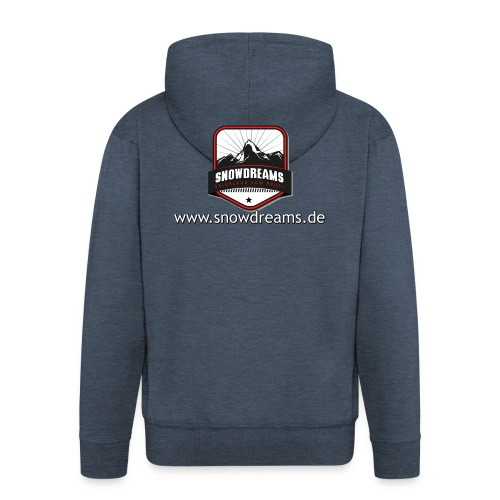 SnowDreams - Männer Premium Kapuzenjacke