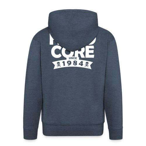 hard core since 1984 - Männer Premium Kapuzenjacke