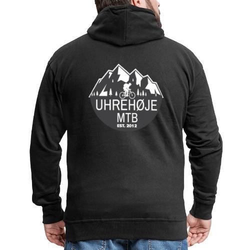 UhreHøje MTB - Herre premium hættejakke
