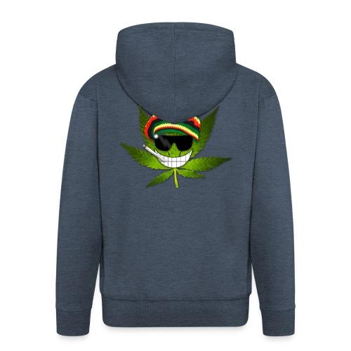 GermanWeedBoys Logo Buttons - Men's Premium Hooded Jacket