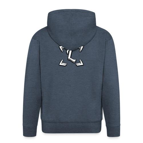 Liquiday T-Shirt | 3D Look. - Men's Premium Hooded Jacket