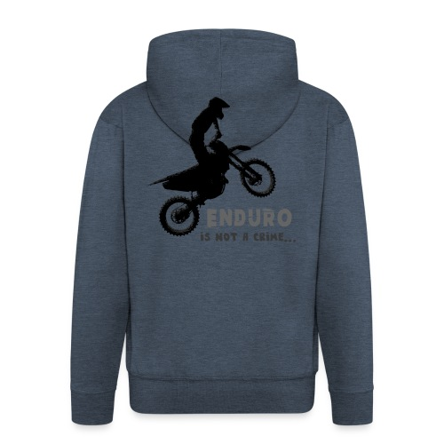 Enduro is not a crime - Chaqueta con capucha premium hombre