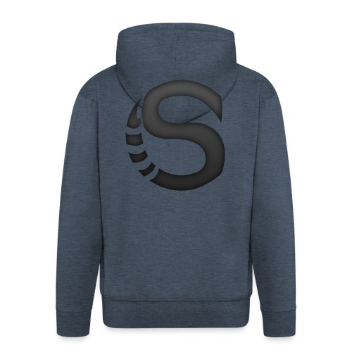 ScorpyArtZ Logo New shirt png - Mannenjack Premium met capuchon