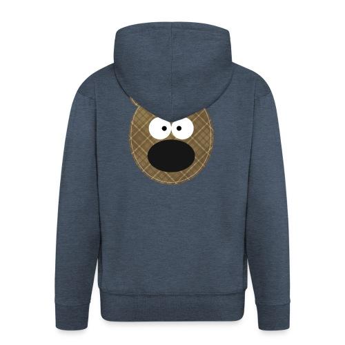 Little Bear - Felpa con zip Premium da uomo