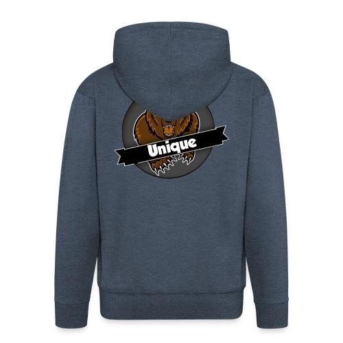 Unique Clan T-Shirt - Mannenjack Premium met capuchon