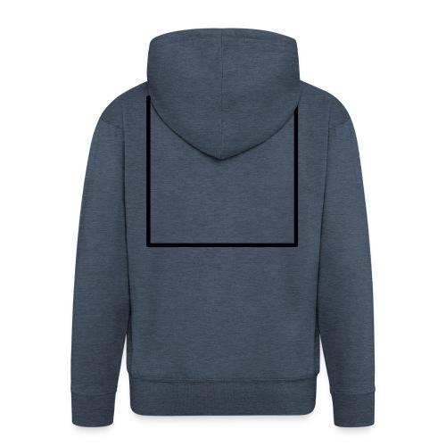 Square t shirt black - Mannenjack Premium met capuchon