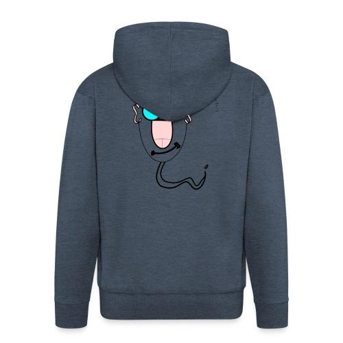 The_Sperms - John_Dickhead - Men's Premium Hooded Jacket