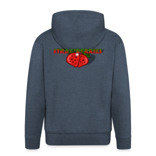 Strawberries - Premium-Luvjacka herr