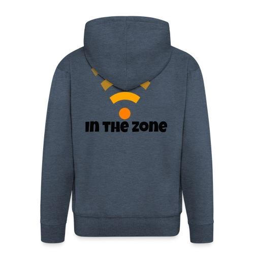 In the zone women - Men's Premium Hooded Jacket