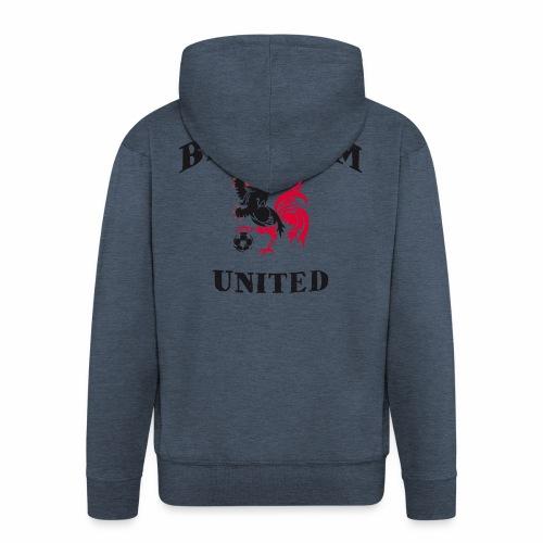 Belgium Unit - Men's Premium Hooded Jacket