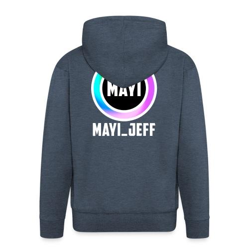 Mayi_Jeff - Men T-Shirt - Men's Premium Hooded Jacket