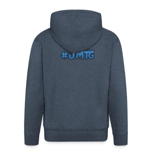 JustMTGames T-Shirt - Mannenjack Premium met capuchon