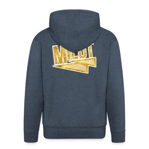 MILDT Gouden Kids Shirt - Mannenjack Premium met capuchon