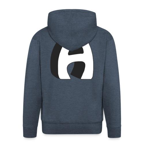 Alfa Kv | Basebal T-Shirt - Mannenjack Premium met capuchon