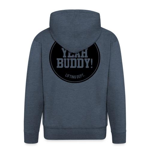 Yeah Buddy - Miesten premium vetoketjullinen huppari
