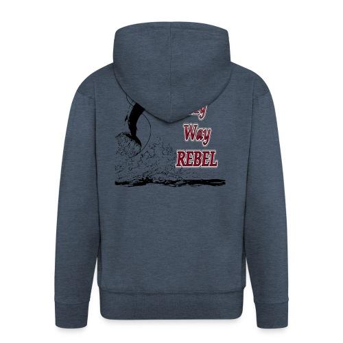 rebelfishh - Mannenjack Premium met capuchon