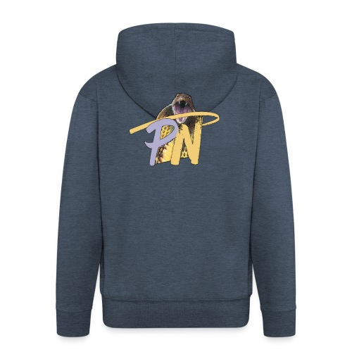 Poisoned Network - T-Shirt - Felpa con zip Premium da uomo