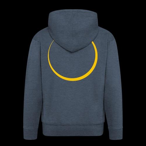ECLIPSE - Yellow Sun - Felpa con zip Premium da uomo