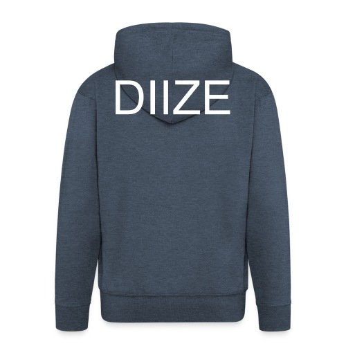 DIIZE logo hoodie - Mannenjack Premium met capuchon