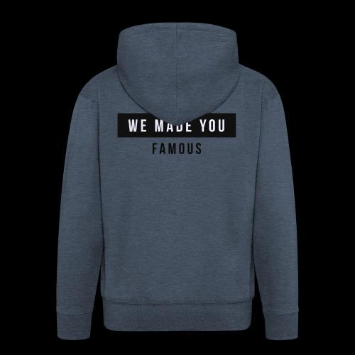 Famous Drop - Limited - Men's Premium Hooded Jacket