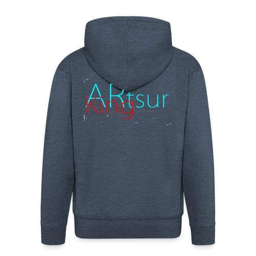ARtsurKing Logo - Herre premium hættejakke