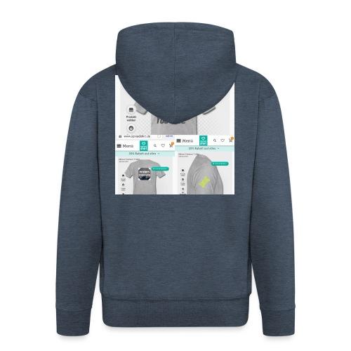 Pyro_King T-shirt - Männer Premium Kapuzenjacke