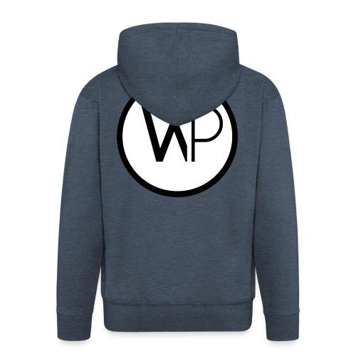 Large Logo - Men's Premium Hooded Jacket